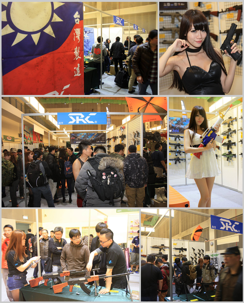 19TH WOOHA SHOW SRC BOOTH AT TAIPEI